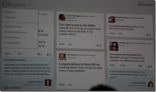 SharePoint 2012 Konferenz Las Vegas und SharePoint 2013 Mobile, Windows 8 Newsfeed App (HATAHET) 03