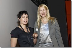 SharePoint 2013 Launch Day bei Microsoft, Claudia Stöckl und Andrea Szivacsek (HATAHET)