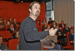 SharePoint 2013 Launch Day bei Microsoft, Geronimo Janosievics (Microsoft) spricht über Social Networking (HATAHET)