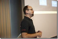 SharePoint 2013 Launch Day bei Microsoft, Markus Reisinger (HATAHET) spricht über Social Networking