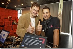 SharePoint 2013 Launch Day bei Microsoft, Nahed Hatahet (HATAHET), Hans Berndl (Microsoft)
