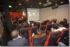 SharePoint 2013 Launch Day bei Microsoft, beide Kinos bei Microsoft wurden benötigt (HATAHET)
