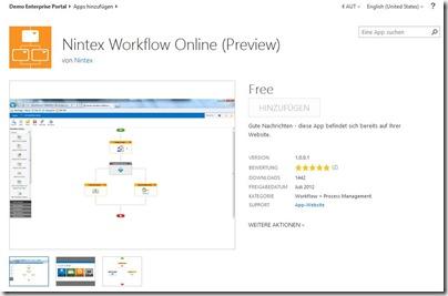 SharePoint App Store, SharePoint Apps, SharePoint 2013, Office 365 Online Services (HATAHET) 003