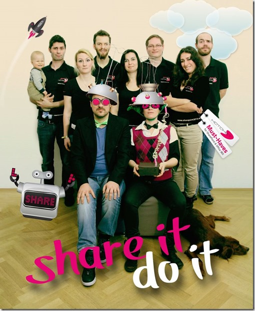 The HATAHET Social Collaboration Family, Microsoft Day 2013, SharePoint 2013, Yammer, Office365 (leider waren nicht alle dabei)