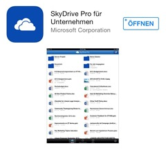 Office 365 SharePoint Online, SharePoint 2013, Apple Store, Microsoft Apps 002 SkyDrive Pro App (HATAHET)