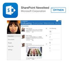 Office 365 SharePoint Online, SharePoint 2013, Apple Store, Microsoft Apps 004 Newsfeed App (HATAHET)