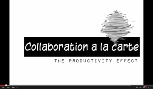 HATAHET Event, Collaboration a la carte, the prodictivity effect