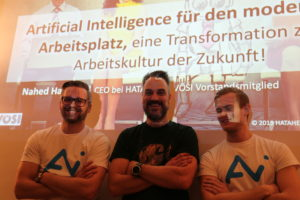 """""""Artificial Intelligence für den modernen Arbeitsplatz, eine Transformation zur Arbeitskultur der Zukunft."""""""